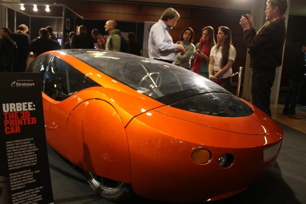 Urbee, la première voiture issue de l'impression 3D
