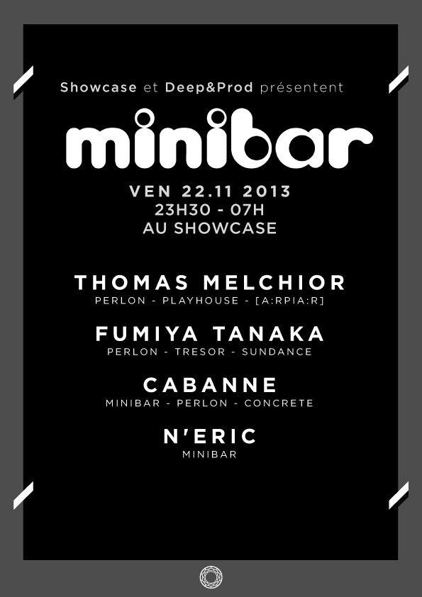 Gagnez 10×2 places pour la soirée «Minibar Night» au Showcase le 22 novembre