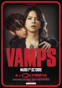 VAMPS - Olympia, 1er octobre 2013