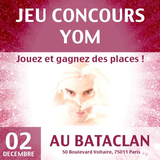 Gagnez 2×2 places pour le concert de Yom au Bataclan le 2 décembre