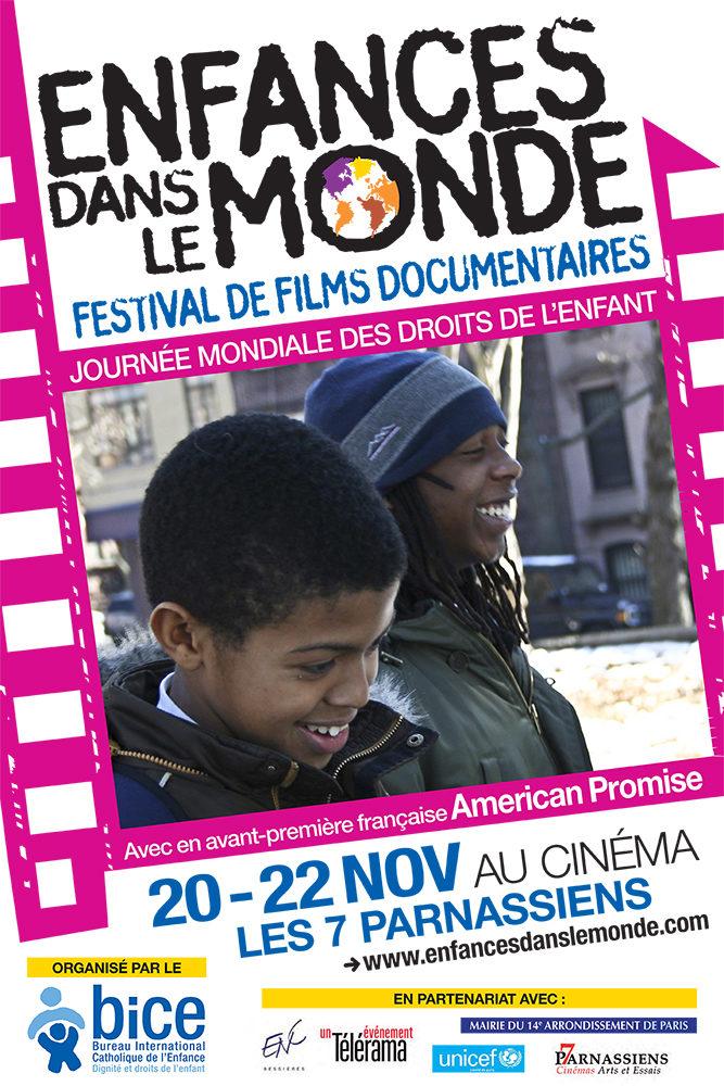 La 3ème édition du festival «Enfances dans le monde» se tiendra du 20 au 22 novembre