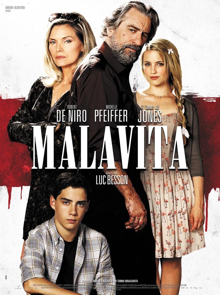 [Critique] Malavita, Luc Besson, Robert De Niro et Michelle Pfeiffer dans un film mineur assez charmant
