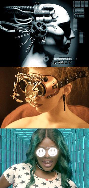 Du cyberpunk au seapunk : le punk numérique