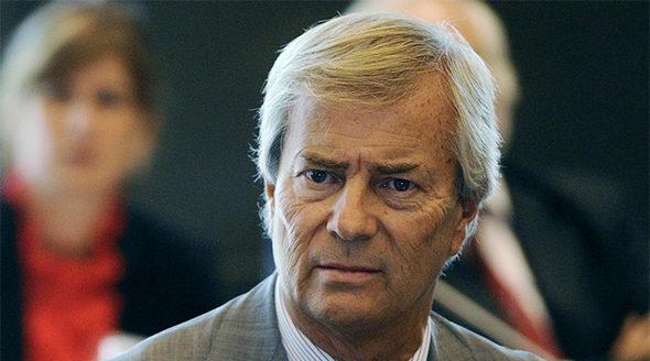 Vincent Bolloré, futur président d'un groupe Vivendi recentré sur les médias