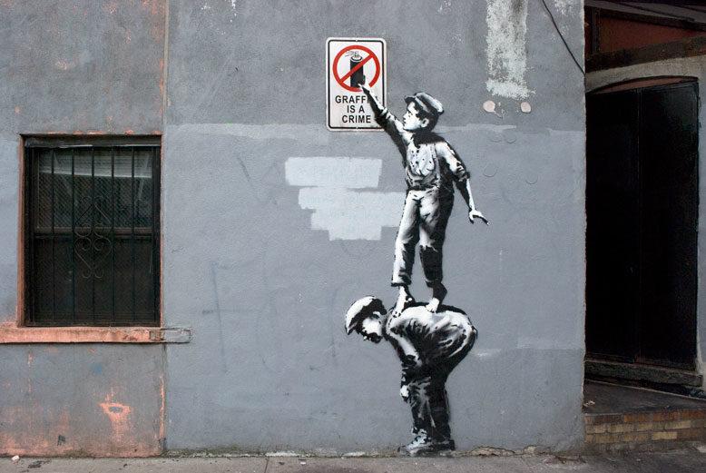 Banksy ou le mystérieux street artist : état des lieux et retour sur son projet «Better in than out»