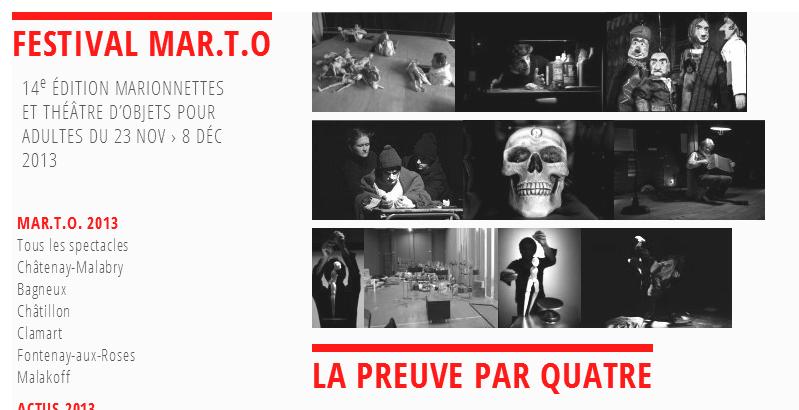 Le festival M.AR.T.O. lance ses marionnettes à l'assaut de l'Ile-de-France