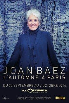 Joan Baez : l'icône de la pop/folk à l'Olympia