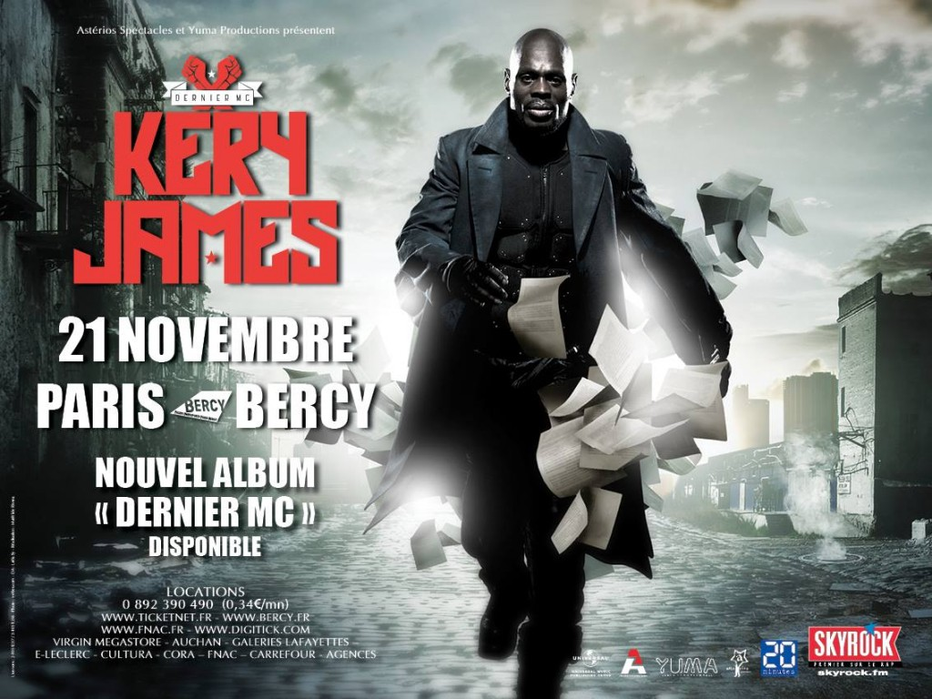[Live report] Kery James le charismatique à Bercy
