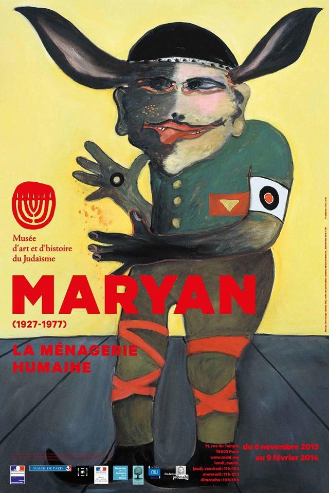 Maryan célébré par le MAHJ et Robert Combas