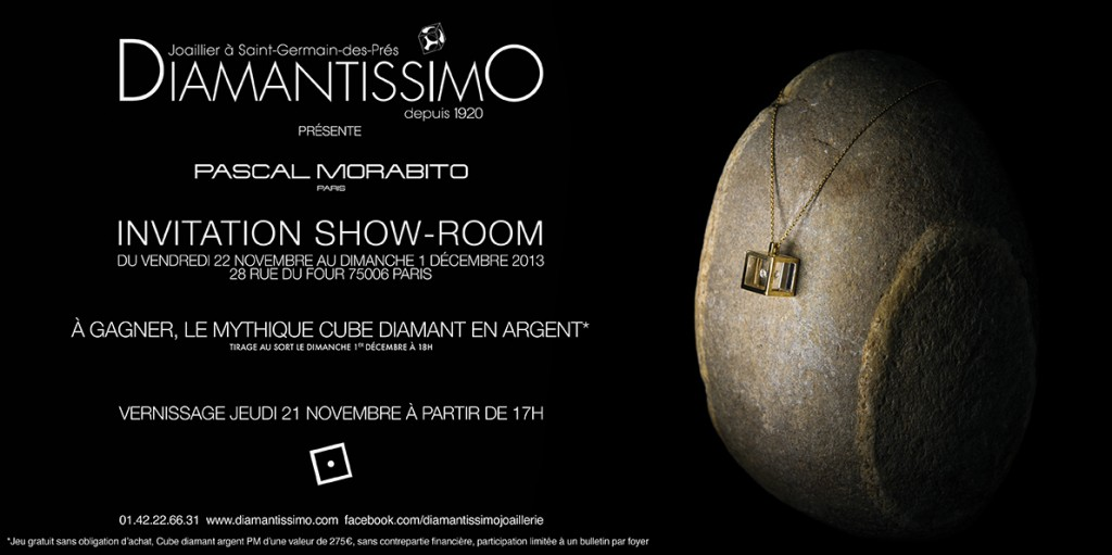 Pascal Morabito expose chez Diamantissimo