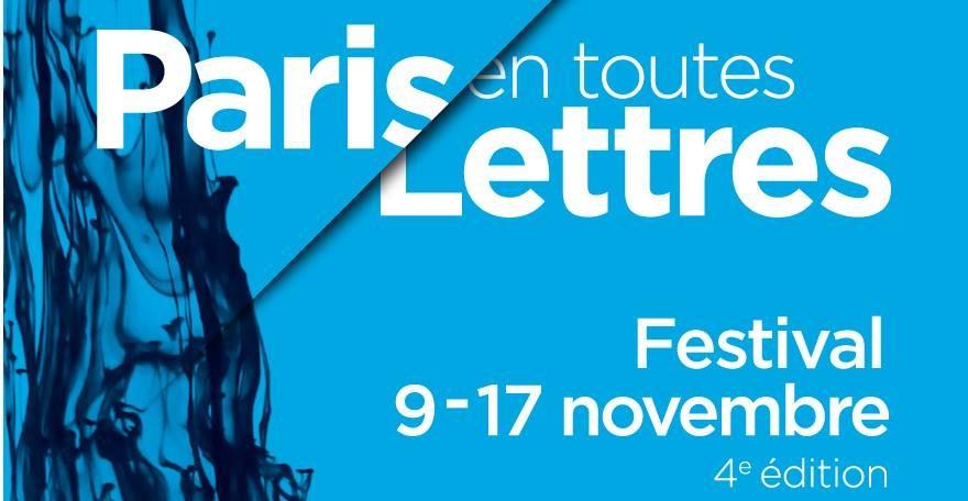 Paris en Toutes Lettres investit la Maison de la Poésie du 9 au 17 novembre