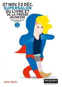 salon du livre jeunesse affiche saint denis