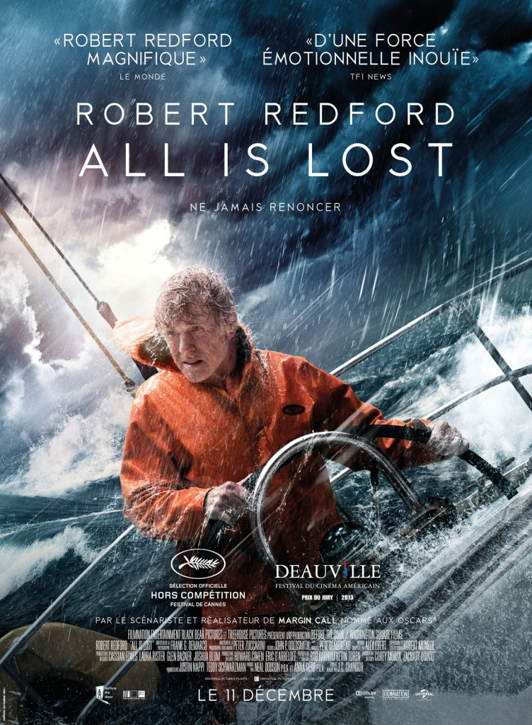 [Critique] «All is Lost», le mythe Robert Redford, sublime