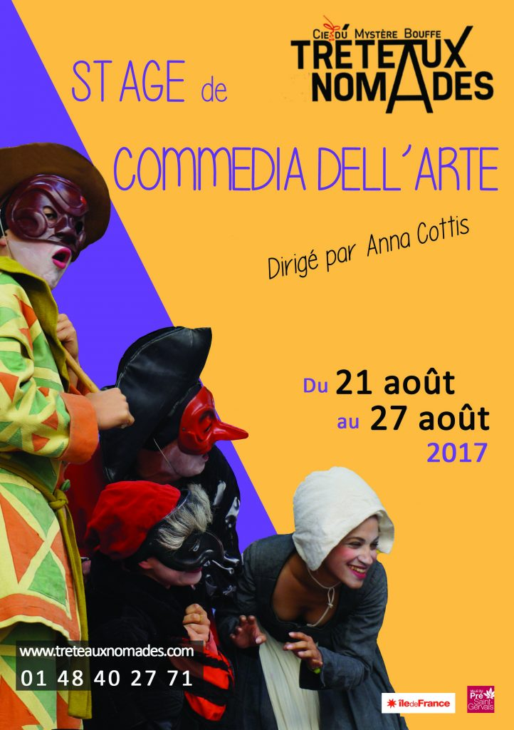 Stage Commedia Dell'Arte // Août 2017