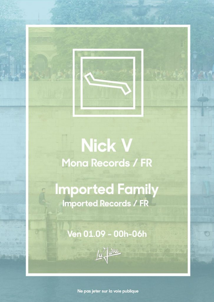 IMPORTED – NICK V (MONA RECORDS) / IMPORTED FAMILY