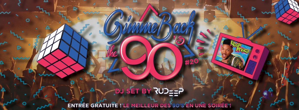 Gimme Back The 90's Entrée gratuite