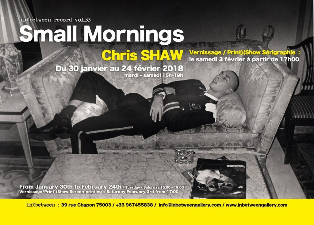 – SMALL MORNINGS – Chris SHAW in) (between record Vol. 33