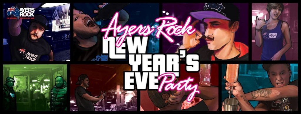 New Year's Eve Party – Ayers Rock