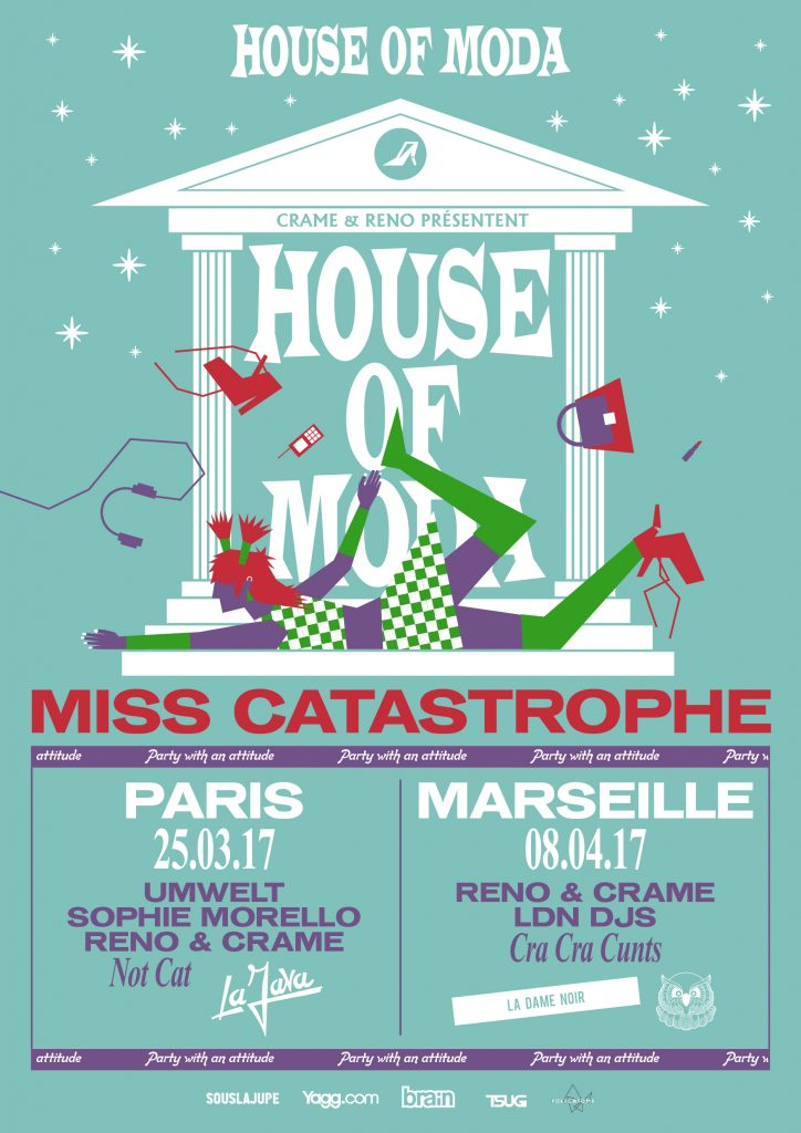 HOUSE OF MODA MISS CATASTROPHE