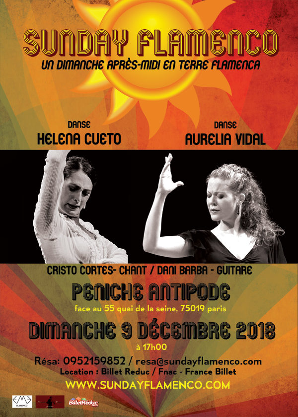 spectacle Sunday Flamenco