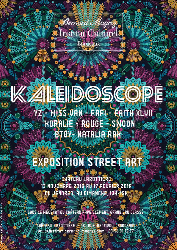 VERNISSAGE EXPOSITION KALEIDOSCOPE STREET ART