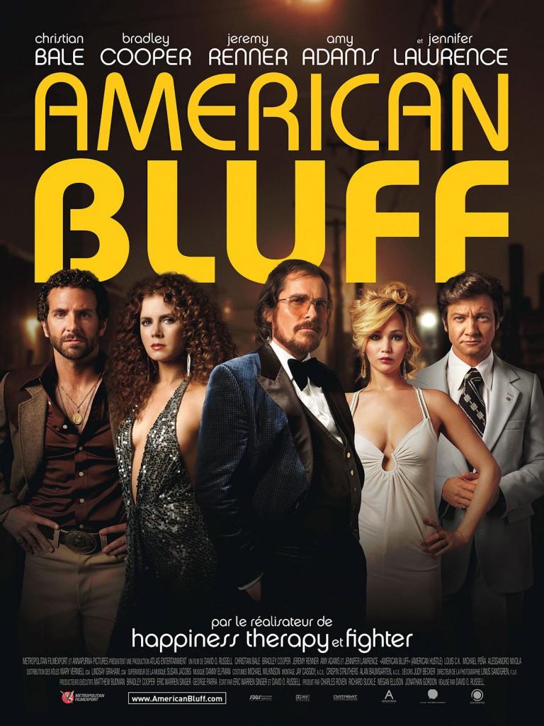 [Critique] « American Bluff » (10 nominations Oscars) réjouissante Dramédie d'arnaque et d'époque par le réalisateur d'Happiness Therapy