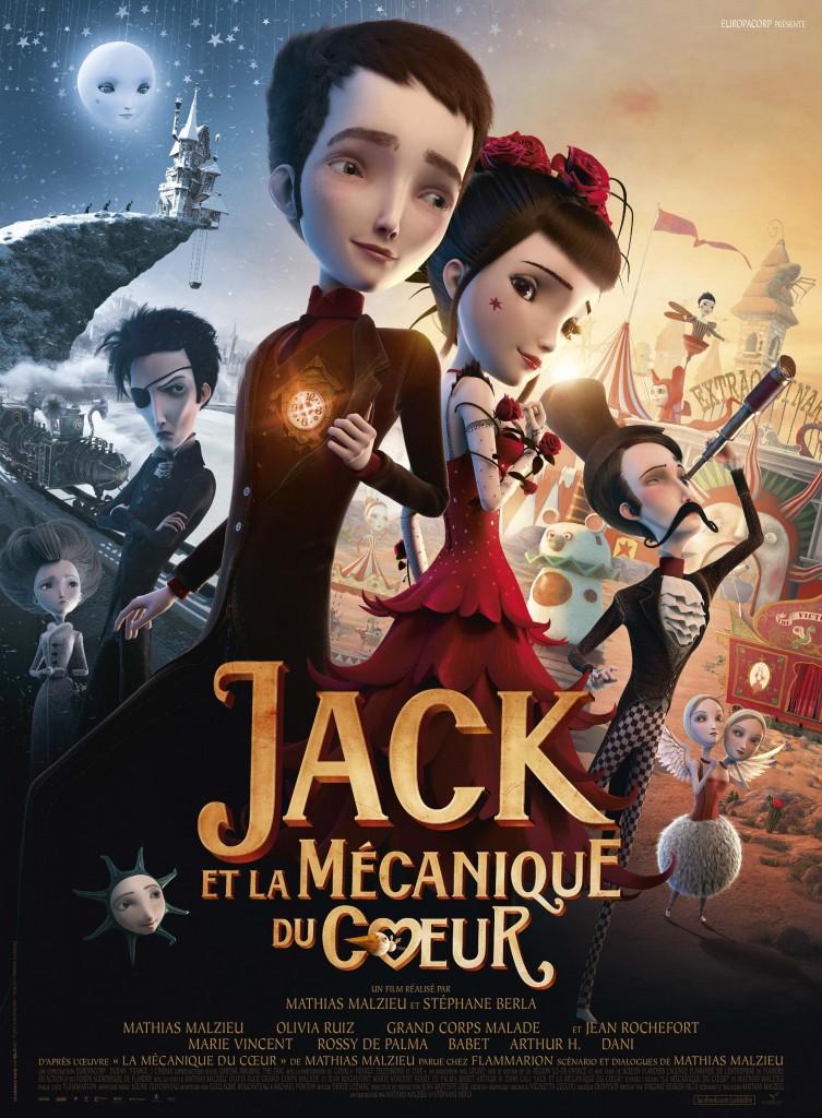 Gagnez 10×2 places pour le film « Jack et la Mécanique du Cœur » de Mathias Malzieu et Stéphane Berla