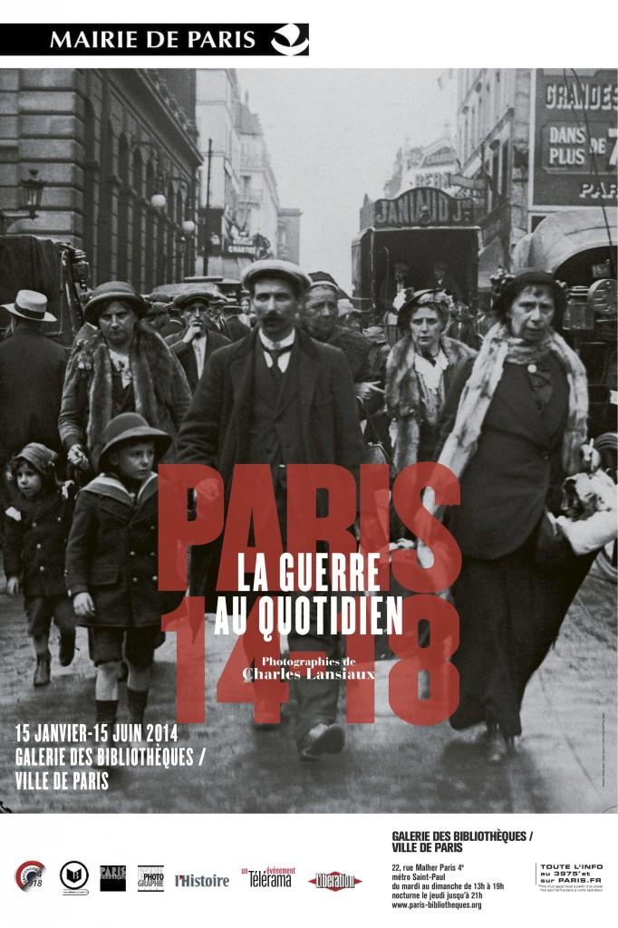 Charles Lansiaux à la Galerie des Bibliothèques : la guerre de 14-18 à travers le prisme du quotidien
