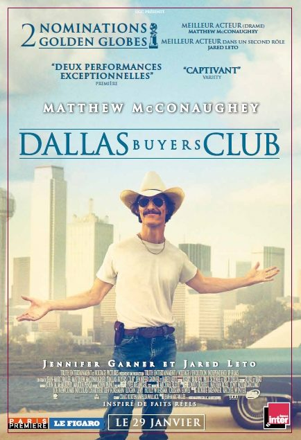 [Critique] « Dallas Buyers Club » : acteur en béton armé pour scénario bancal