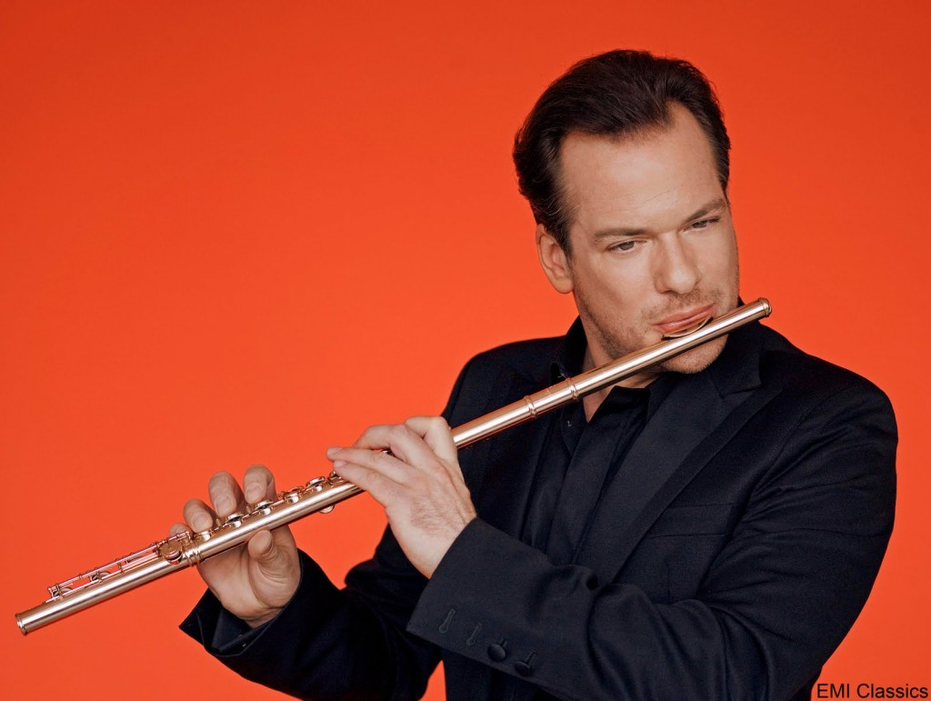 Le flûtiste Emmanuel Pahud au Théâtre des Champs-élysées