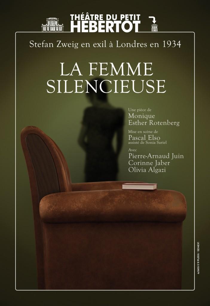 Gagnez 3×2 places pour la pièce « La Femme Silencieuse » au théâtre du Petit Hebertot