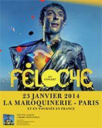 [Live report] Feloche à la Maroquinerie : décapant et poétique