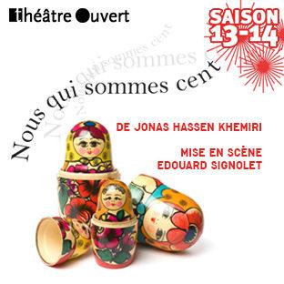 «Nous qui sommes cent», le théâtre vivant d'Edouard Signolet