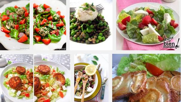 La recette de Claude : salade aux petits chèvres