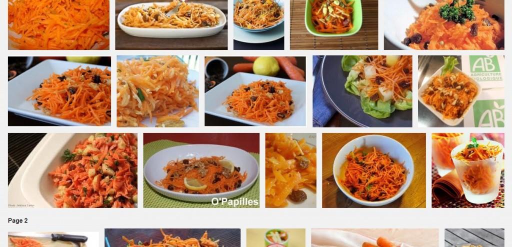 La recette de Claude : salade de carottes râpées aux raisins secs