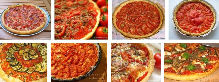 La recette de Claude : tarte aux tomates