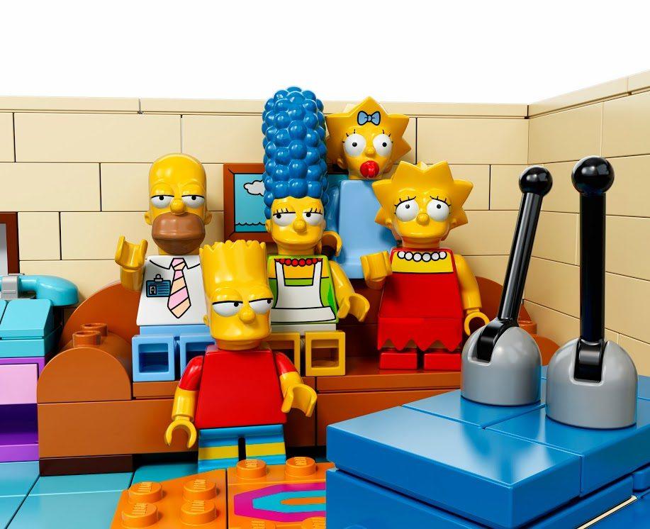Un épisode des Simpsons tout en Lego