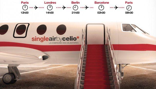 Célibataire : décollage immédiat pour le 7ème ciel avec Celio