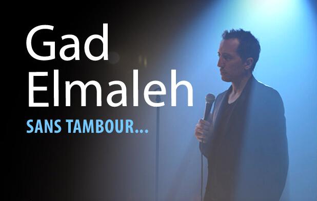 Gad Elmaleh : le Fantôme de l'Opéra se met à l'humour