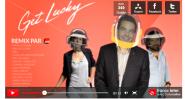 Get Lucky  remixé par France Inter   Vidéo Dailymotion