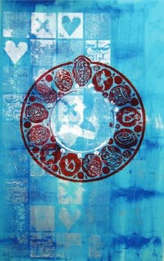 Nima Behnoud à la galerie Nicolas Flamel à Paris : l'art iranien au service de la mode