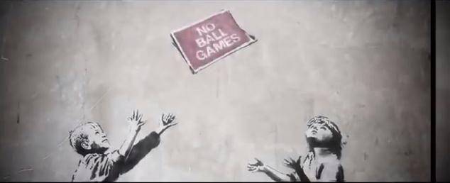 Banksy arraché à ses murs