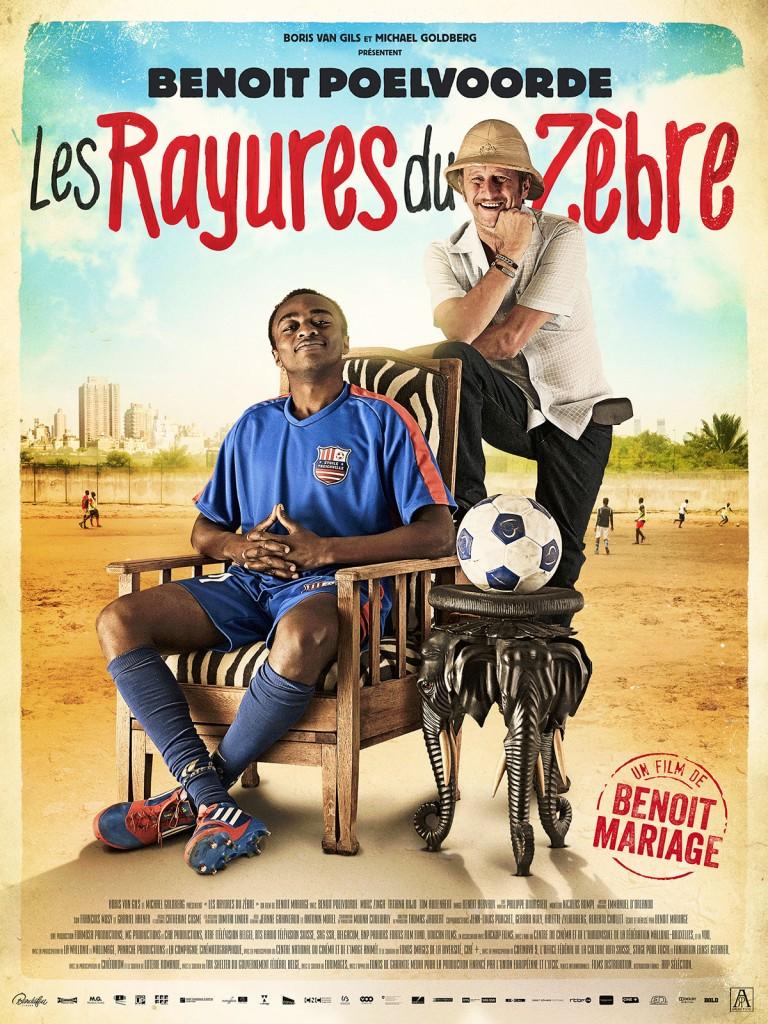 [Critique] « Les rayures du zèbre » : le foot, l'Afrique, la Belgique et l'incroyable Poelvoorde