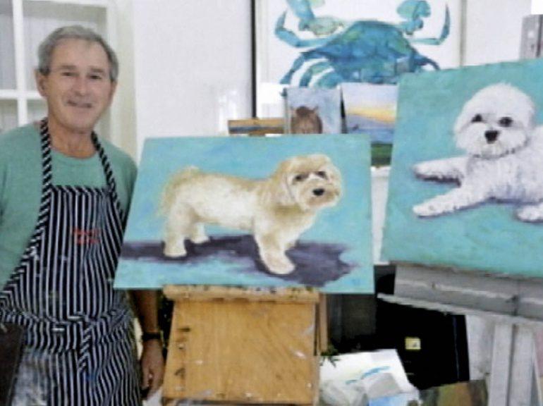 Le talent (bien) caché de George W. Bush