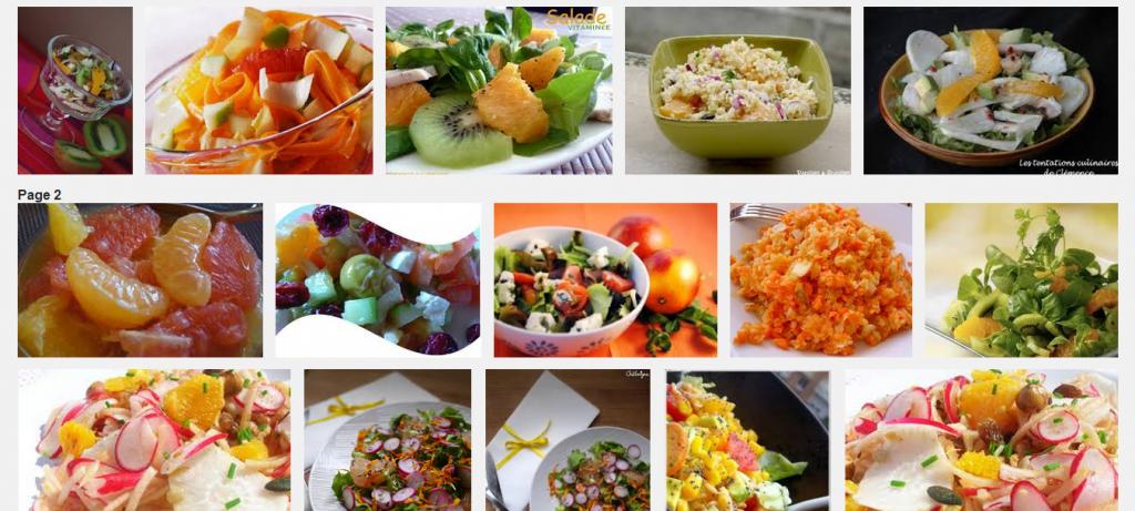 La recette de Claude : salade vitaminée