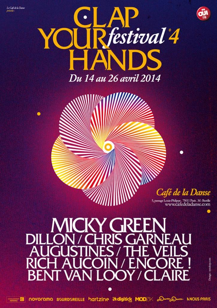 Gagnez 2×2 places au Festival Clap Your Hands pour Rich Aucoin et Encore! au Café de la Danse le 17 Avril