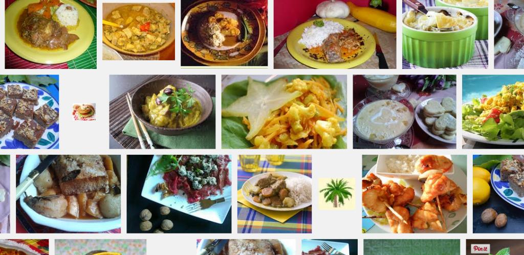 La recette de Claude : Colombo de porc et achard de mangue
