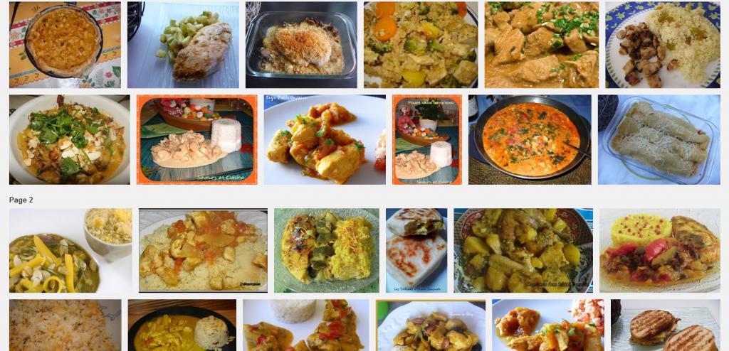 La recette de Claude : Escalope de poulet aux pommes, à la semoule et au curry