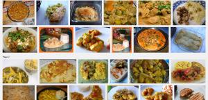 Escalope de poulet aux pommes à la semoule et au curry Recherche Google