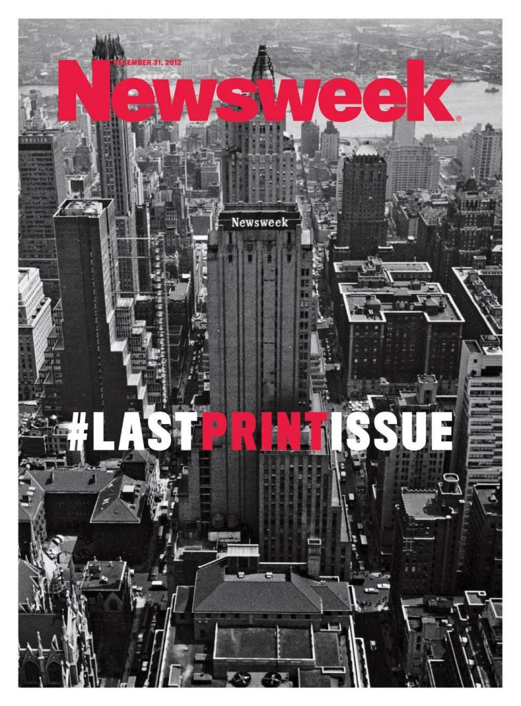 Le magazine «Newsweek» ressort une version papier